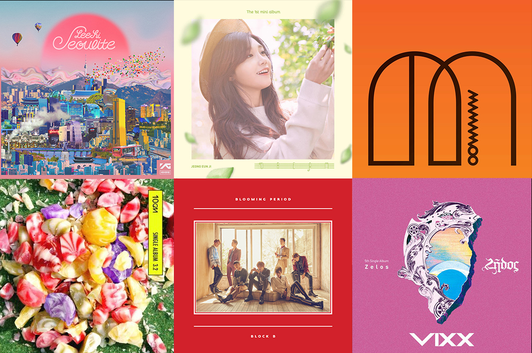 Weekly K-Pop Music Chart 2016 – May Week 1