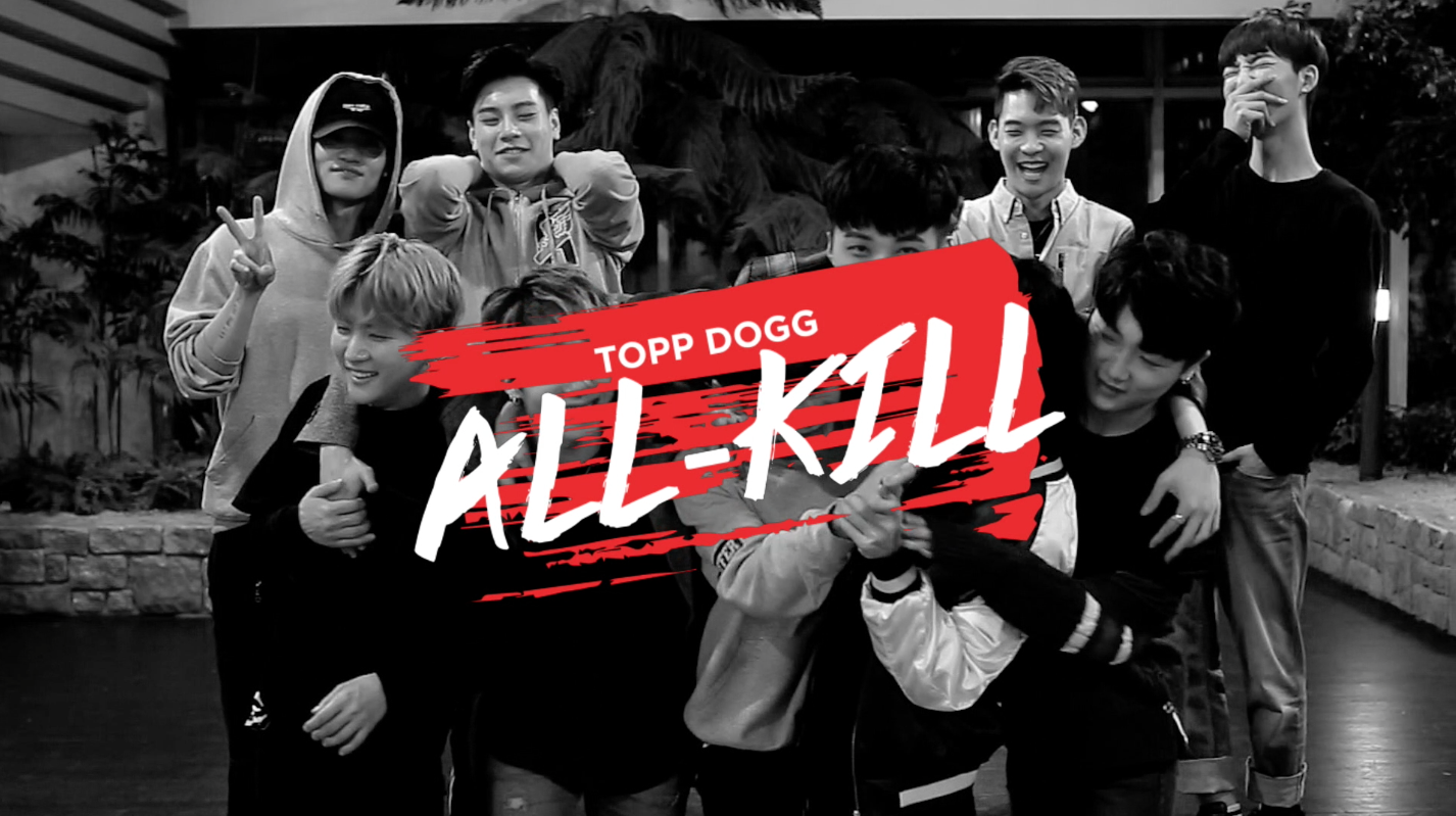 "Soompi's Original Web Variety ""Topp Dogg: All-Kill"" To Start Airing This May"