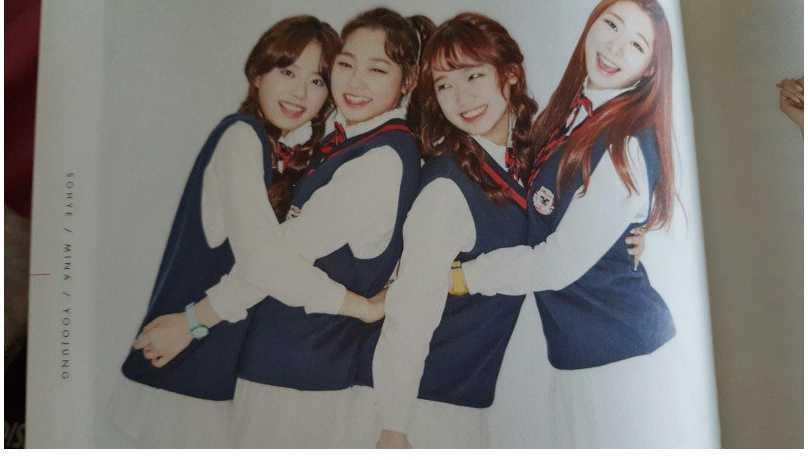 kim sohye, kang mina, choi yoojung, yoo yeonjung