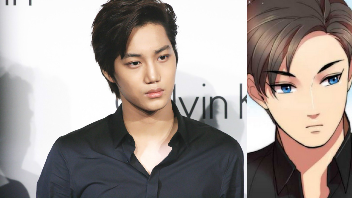 15 K Pop Stars That Are Basically Anime Characters In Real - Anime Hairstyles Male Real Life
