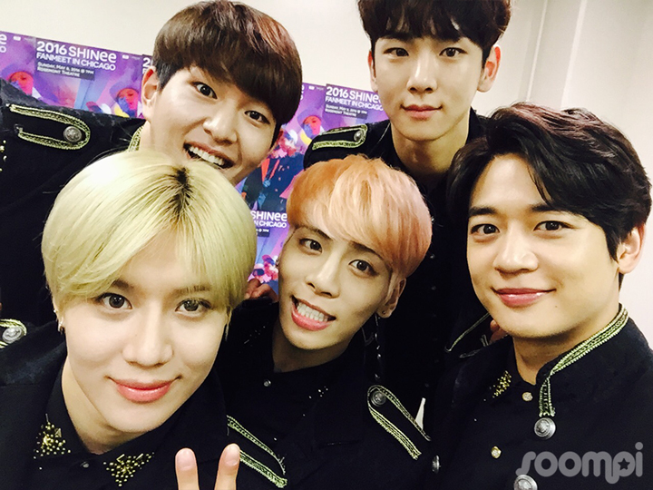 5 times shinee was perfectly in chicago