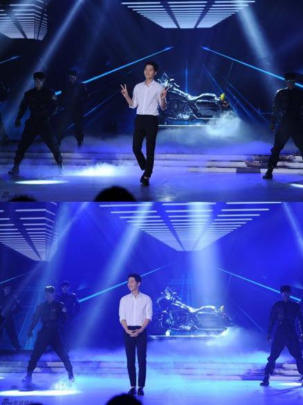 Song Joong Ki chinese variety show2