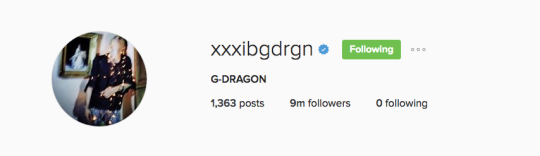 g-dragon instagrm