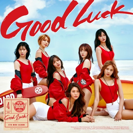 """AOA Tops Charts With Summer Tune """"Good Luck"""""""