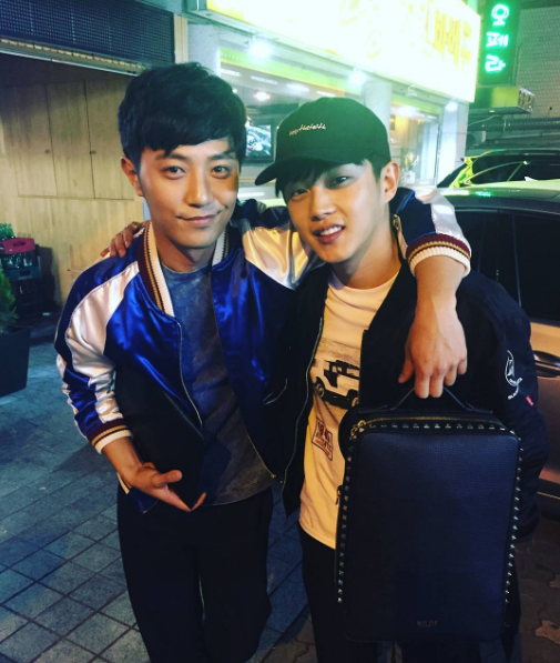 Kim Min Suk And Jin Goo Prove Their Bromance Is Alive And Well