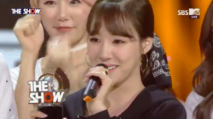 "Tiffany Takes 1st Win For ""I Just Wanna Dance"" On ""The Show,"" Performances By AOA, SEVENTEEN, And More"