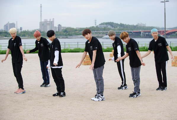 BTS Running Man