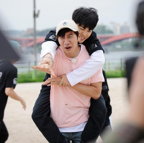 Lee Kwang Soo BTS Jimin