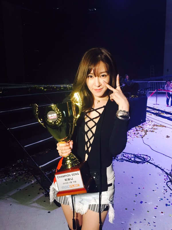 "Tiffany Grabs 2nd Win For ""I Just Wanna Dance"" On ""Show Champion,"" Performances By AOA, SEVENTEEN, And More"