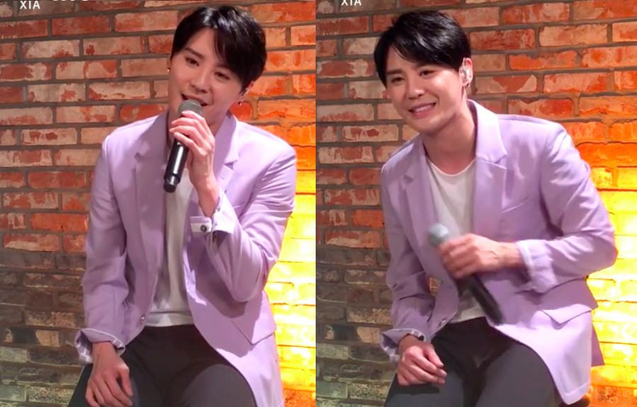 "Watch: JYJ's Junsu Performs Pre-Comeback Track ""..Is You"" Live"
