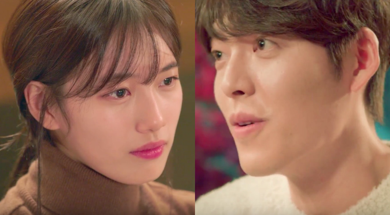 "Kim Woo Bin And Suzy Make Sparks Fly In New ""Uncontrollably Fond"" Teaser"