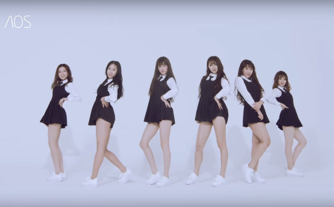 Chinese Girl Group AOS Copies GFRIEND?