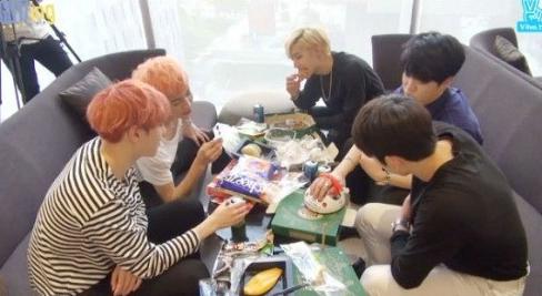 GOT7 Members Take Comical Lie Detector Tests On Live Broadcast