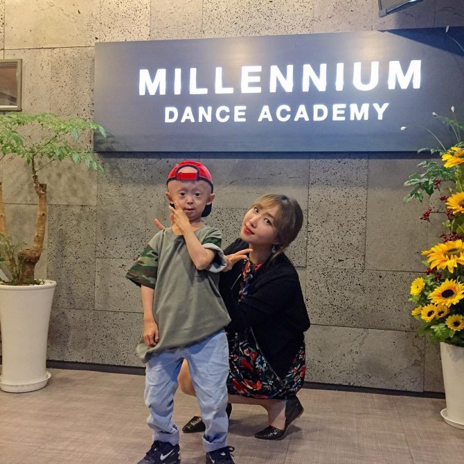 Minzy Writes Supportive Message For Child With Rare Ageing Disorder