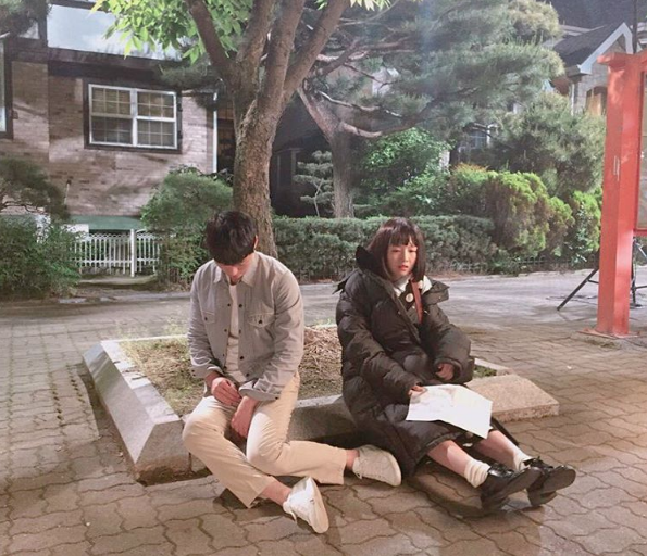 "Namgoong Min Makes Fans Curious With Behind-the-Scenes Photo of ""Dear Fair Lady Kong Shim"""