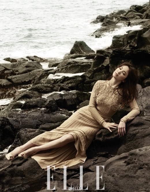 Song Hye Kyo Elle