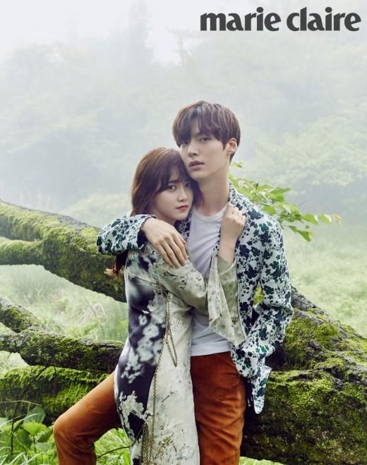 Ahn Jae Hyun And Ku Hye Sun Escape To Dreamy Jeju Island With Marie Claire