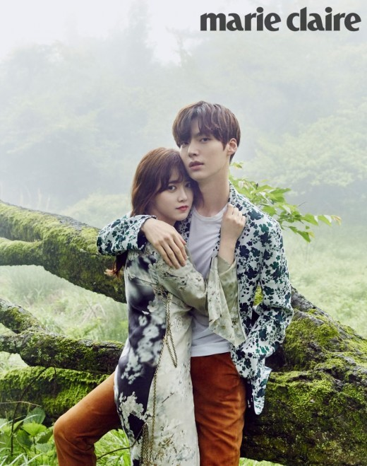 Ahn Jae Hyun And Ku Hye Sun Escape To Dreamy Jeju Island With Marie Claire