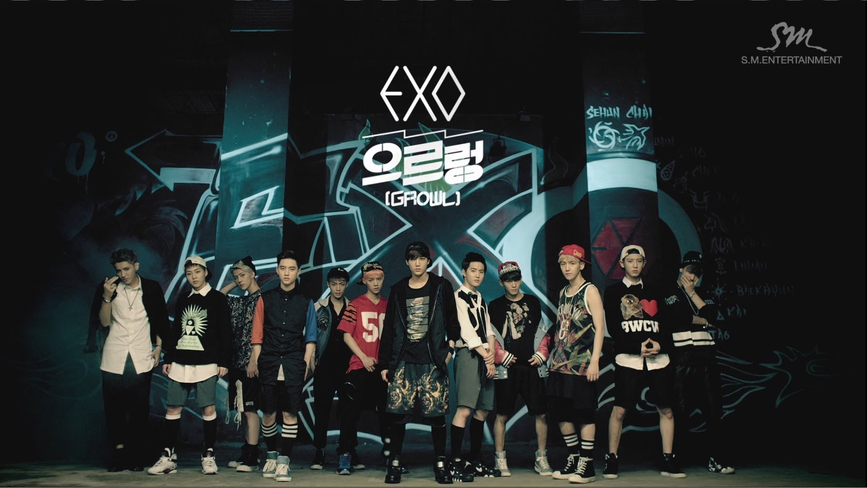 EXO : Growl MV 2nd Version
