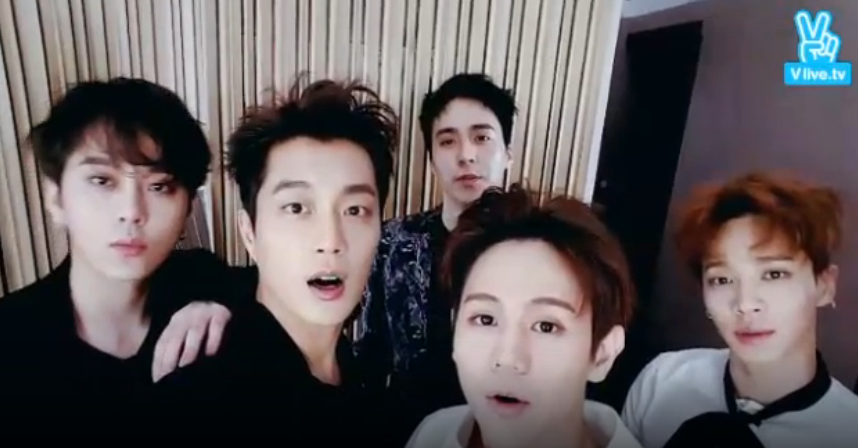 BEAST Greets Fans As Five-Member Group Through Live Broadcast