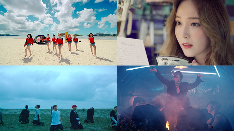 This Week In K-Pop MV Releases: AOA, Jessica, BTS And More – May Week 3