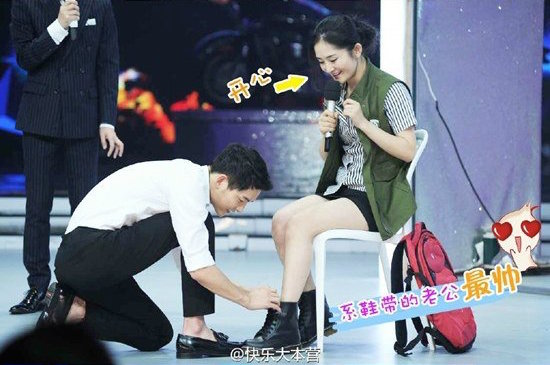"Song Joong Ki Makes Fans' Wishes Come True In New ""Happy Camp"" Stills"