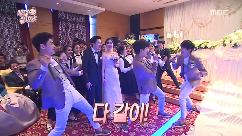 Kwanghee Lee Joon Jung Yong Hwa Wedding Boys 1