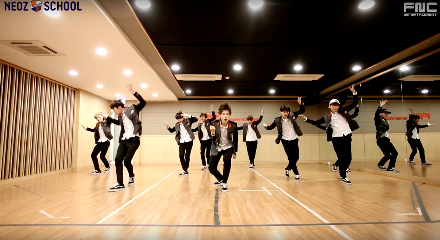 """Watch: FNC NEOZ SCHOOL Dance Team Covers BTS and Block B For First Mission On """"d.o.b"""""""