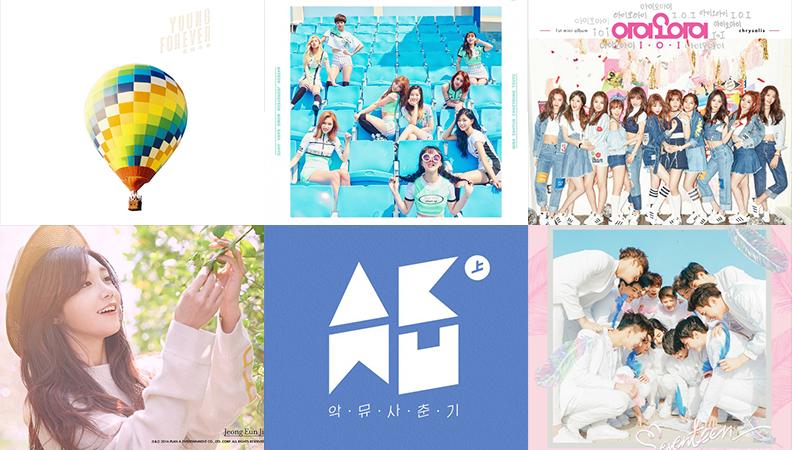 Weekly K-Pop Music Chart 2016 – May Week 3