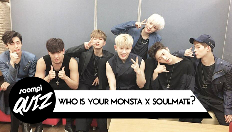 QUIZ: Who Is Your MONSTA X Soulmate? | Soompi
