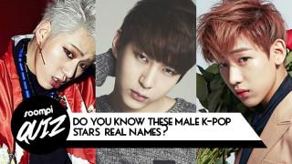 soompi quiz k-pop idols real names