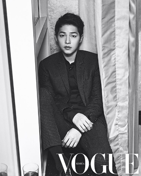 Song Joong Ki Says He Has No Plans To Take A Break From Acting