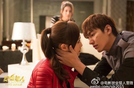 "Lee Min Ho And Tiffany Tang Up The Chemistry In New ""Bounty Hunters"" Stills"