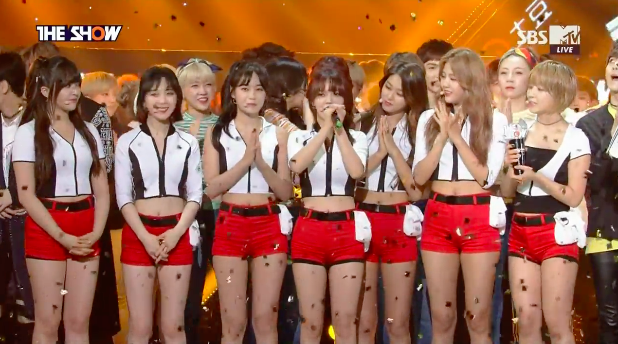 "AOA Takes 1st Win For ""Good Luck"" On ""The Show,"" Performances By SEVENTEEN, UP10TION, And More"
