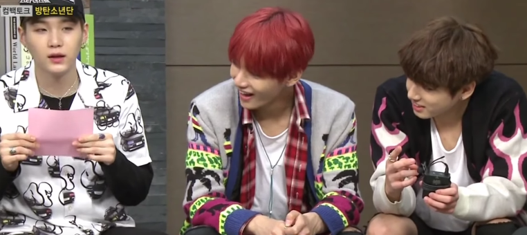 This Is How One Idol Avoids Playing The Dreaded Paper Kiss Game With His Group Members