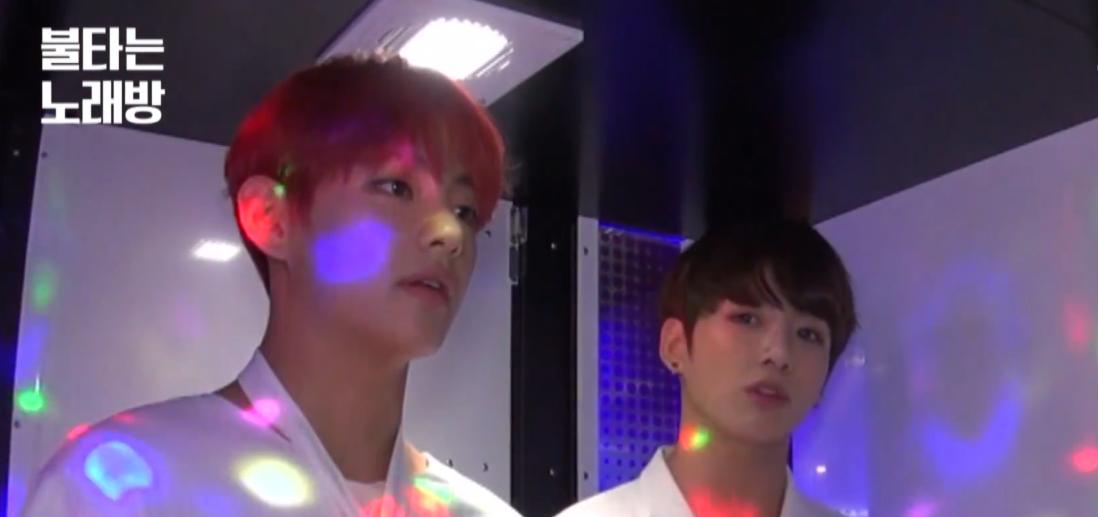 """Watch: BTS's V And Jungkook Bring Out Their BIGBANG Fanboy Side Covering """"If You"""" And """"Bang Bang Bang"""""""