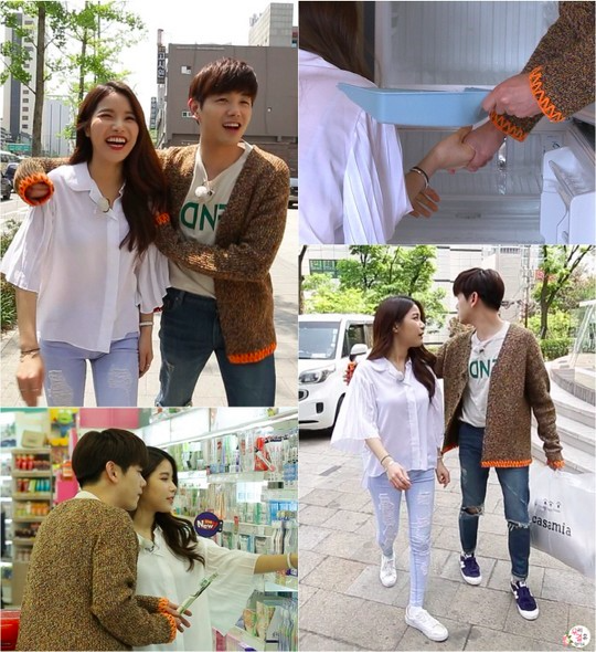 Eric Nam Successfully Holds Hands With Solar