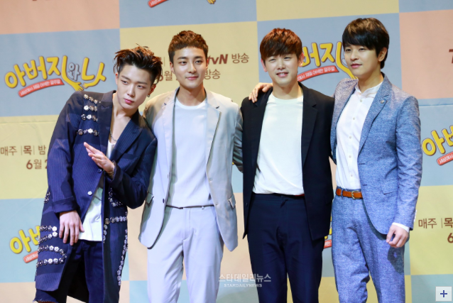 """Eric Nam, Roy Kim, Bobby, And Kim Jung Hoon Talk Relationships With Fathers For New Variety Program """"My Father And Me"""""""