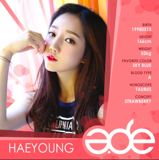Haeyoung A.DE