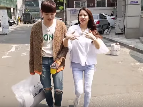 """Watch: Eric Nam Is Impressed By Solar's Rap Skills On """"We Got Married"""""""