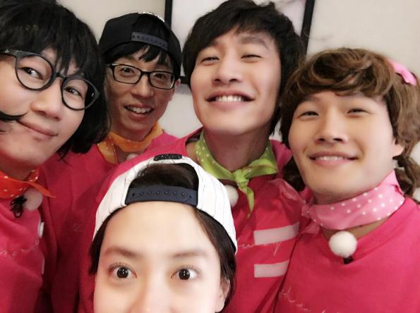 Ji Suk Jin And Kim Jong Kook Transform Into Pretty Ladies In Pink