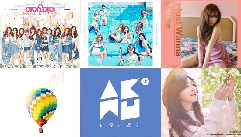Weekly K-Pop Music Chart 2016 – May Week 4