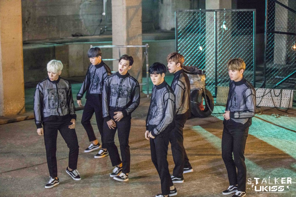 "Update: U-KISS Shares New Images From ""Stalker"" MV"