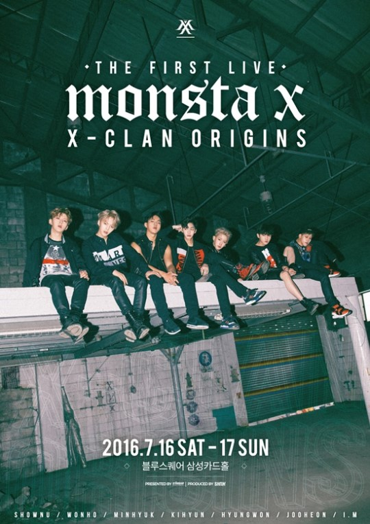 MONSTA X Announces First Solo Concert