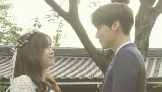 Foto pernikahan Goo Hye Sun dan Ahn Jae Hyun pada Mei 2016.