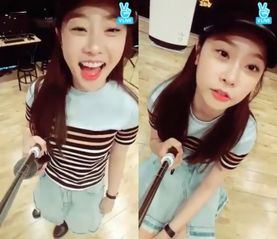 Girl's Day's Sojin Gives Life Advice To A Hater In V App Chat Room