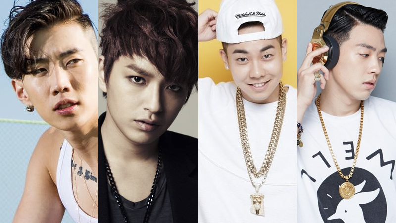 """AOMG's Jay Park, Simon Dominic, Loco, And Gray To Host """"SNL Korea"""""""