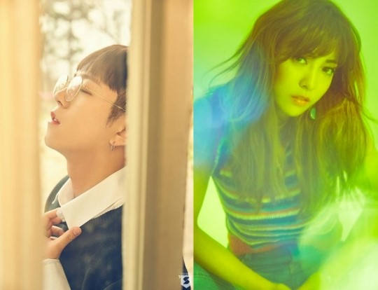 "Block B's Taeil And f(x)'s Luna To Perform ""It Was Love"" at KCON France"