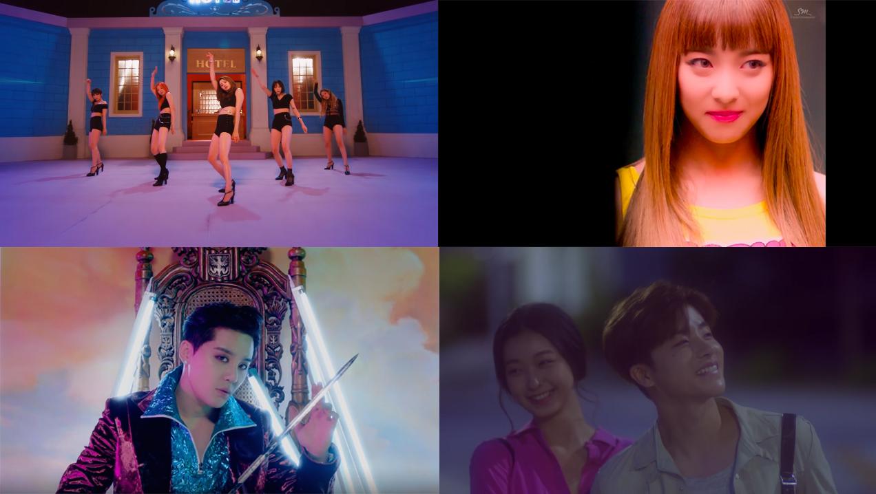 This Week In K-Pop MV Releases: EXID, Luna, iKON, XIA, And More – June Week 1