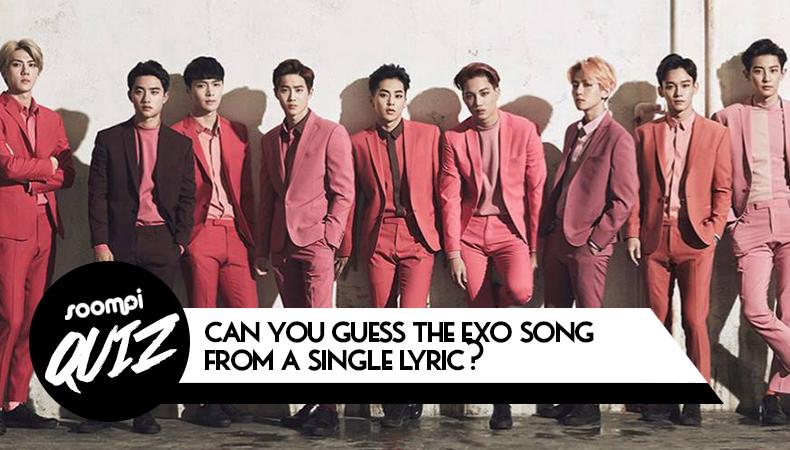 soompi kpop quiz exo song single lyric